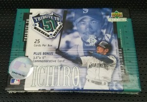 Upper Deck Collectibles Tribute to 51 Set Sealed
