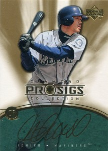 Upper Deck Diamond Collection Pro Sigs Gold