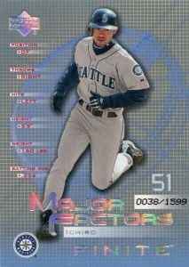 Upper Deck Finite Major Factors /1599