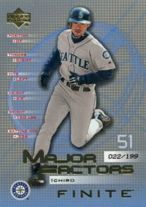 Upper Deck Finite Major Factors Gold /199