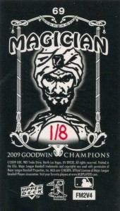 Upper Deck Goodwin Champions Mini Foil Magician /8