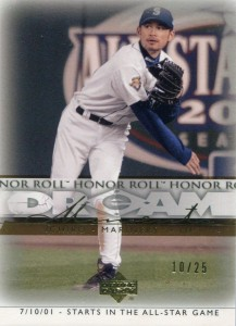Upper Deck Honor Roll Dream Moments #96 Gold /25