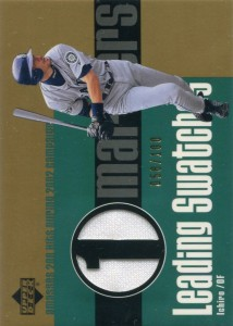 Upper Deck Leading Swatches Gold /100