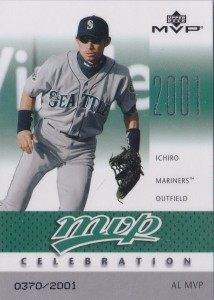 Upper Deck MVP Celebration MVP14 /2001