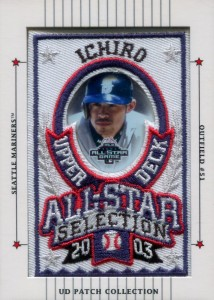 Upper Deck Patch Collection All Star Sample