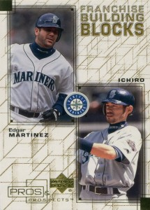 Upper Deck Pros and Prospects Franchise Building Blocks