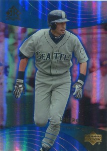 Upper Deck Reflections Blue /75
