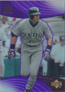 Upper Deck Reflections Purple /99