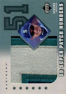 Upper Deck Super Patch Numbers