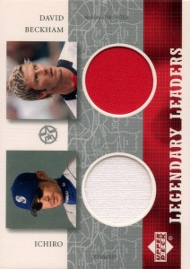Upper Deck Superstars Legendary Leaders Dual Relic