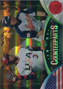 Upper Deck World Baseball Classic Counterparts with Griffey